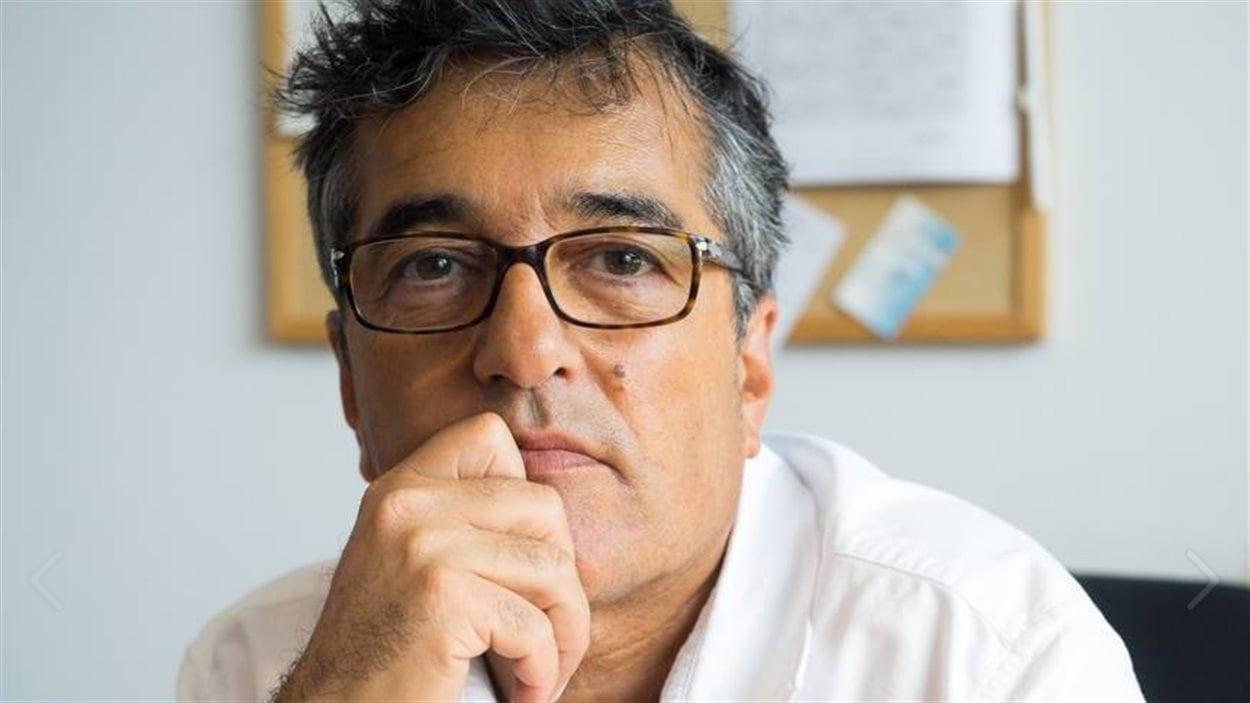Pierre Céré, candidat à la course à la direction du Parti québécois