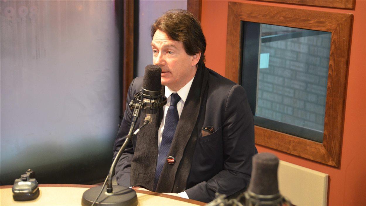 Pierre Karl Péladeau en Abitibi-Témiscamingue