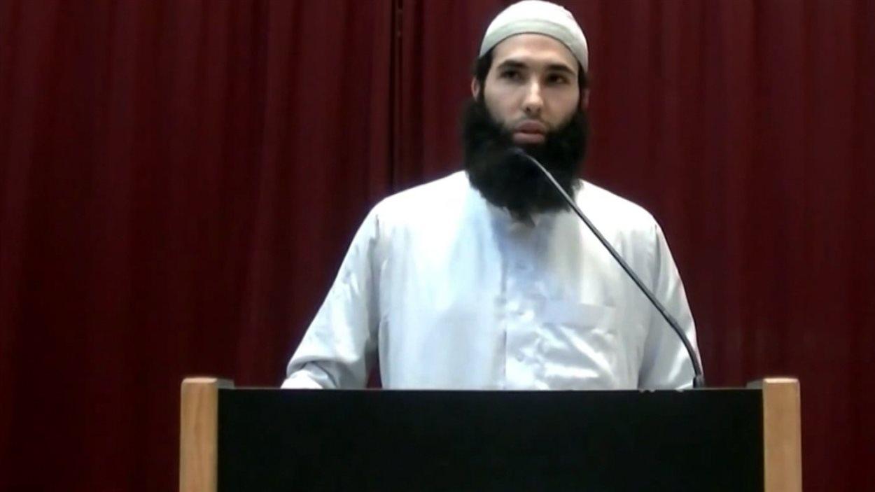 L'imam intégriste Hamza Chaoui