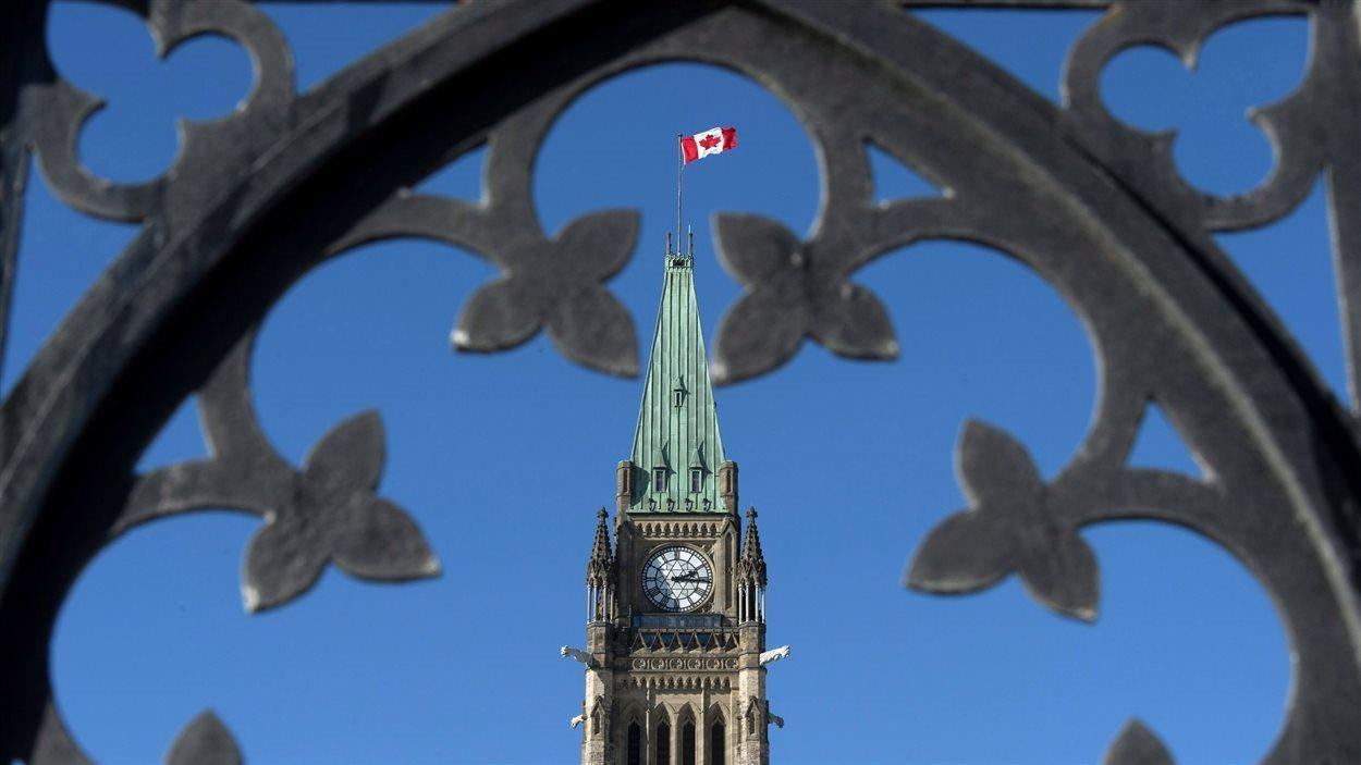Tour du parlement à Ottawa