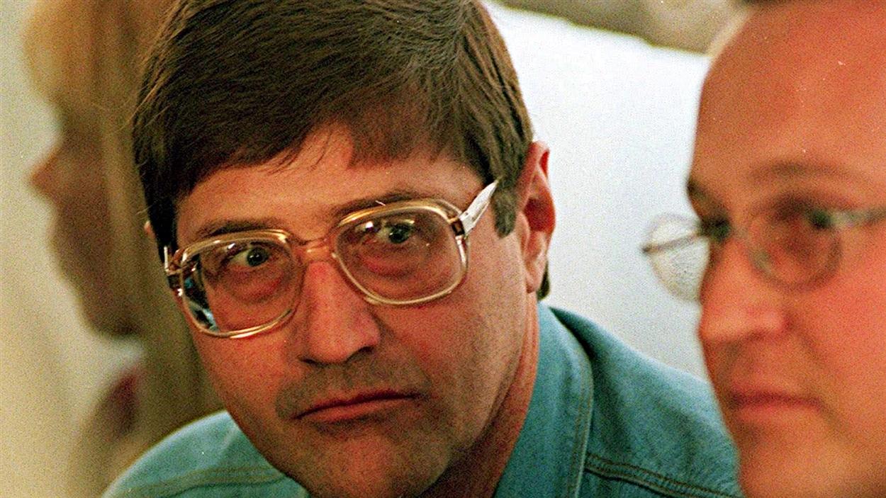 Eugene de Kock (à gauche) en 1998