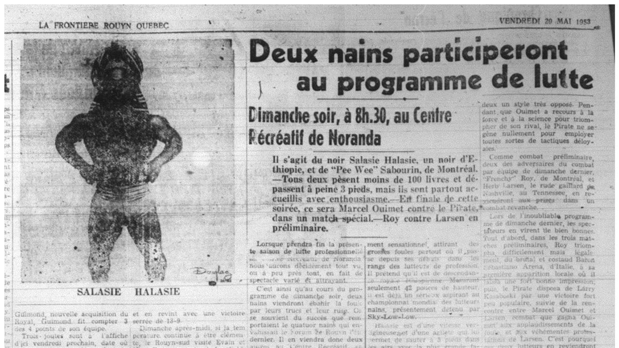 La Frontière 1953