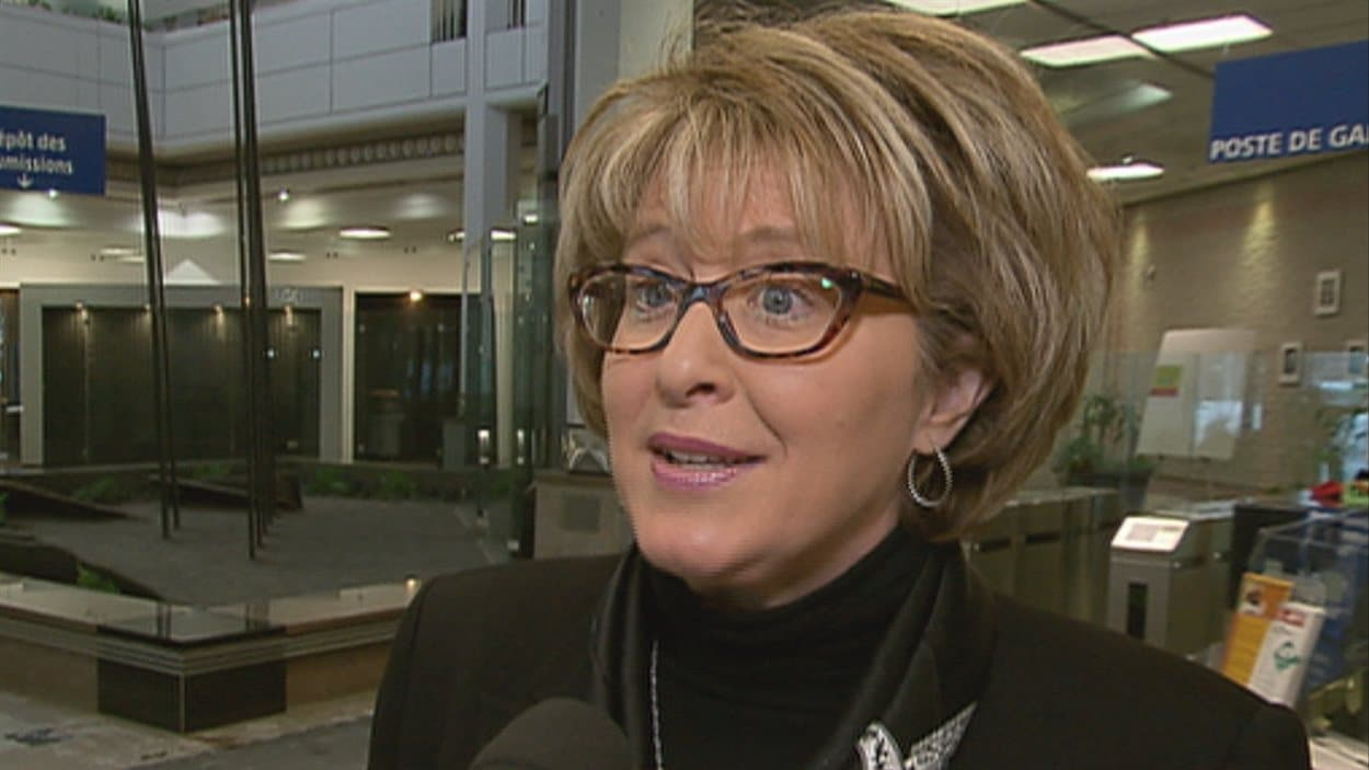 Nathalie Tremblay, présidente et chef de la direction à la SAAQ.