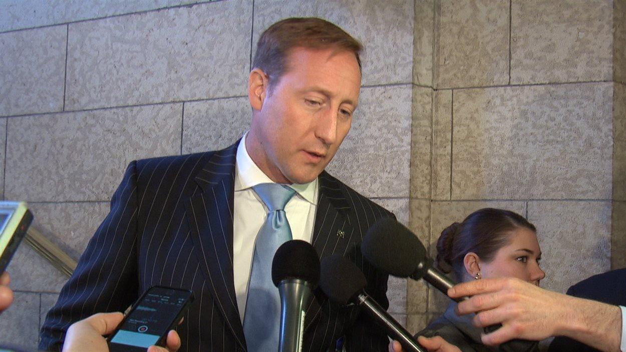 Le ministre de la Justice du Canada, Peter MacKay.