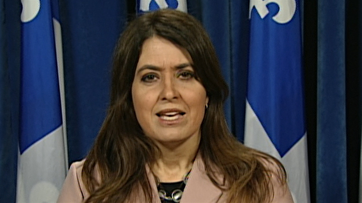La députée de Joliette, Véronique Hivon