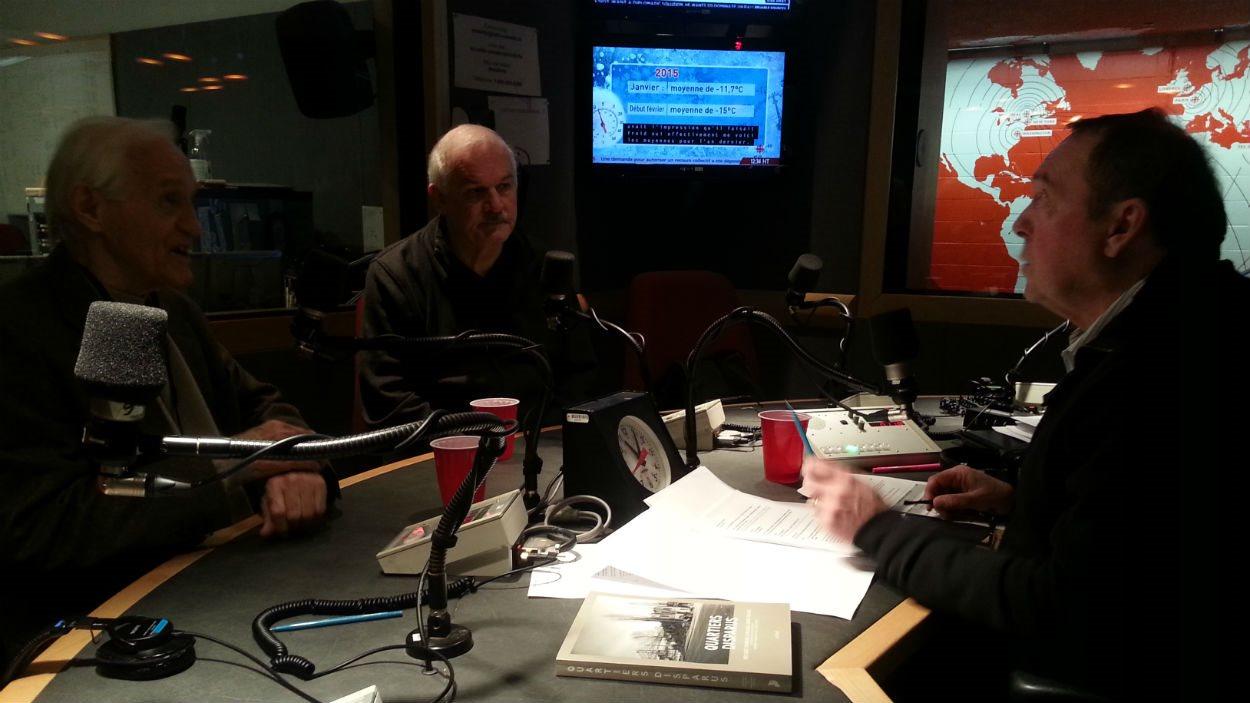 Dr Marcel Boisvert et Me Jean-Pierre Ménard discutent du jugement de la Cour suprême du Canada sur l'aide médicale à mourir avec Michel Désautels.