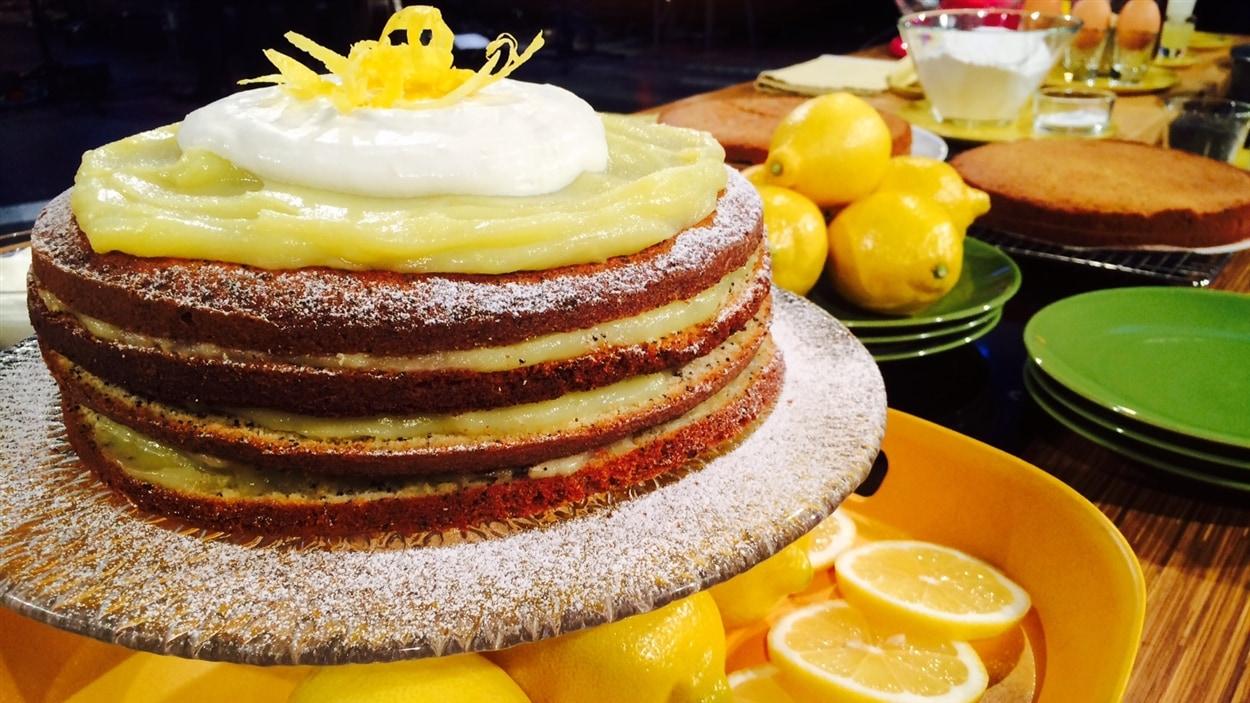 Gâteau à l'érable et aux graines de pavot