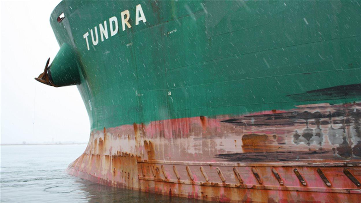 Le navire Tundra