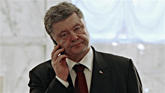Petro Porochenko à Minsk