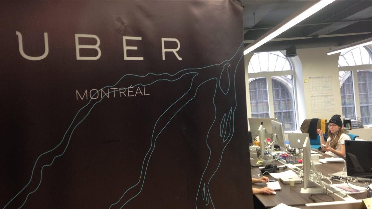 Bureaux d'Uber à Montréal