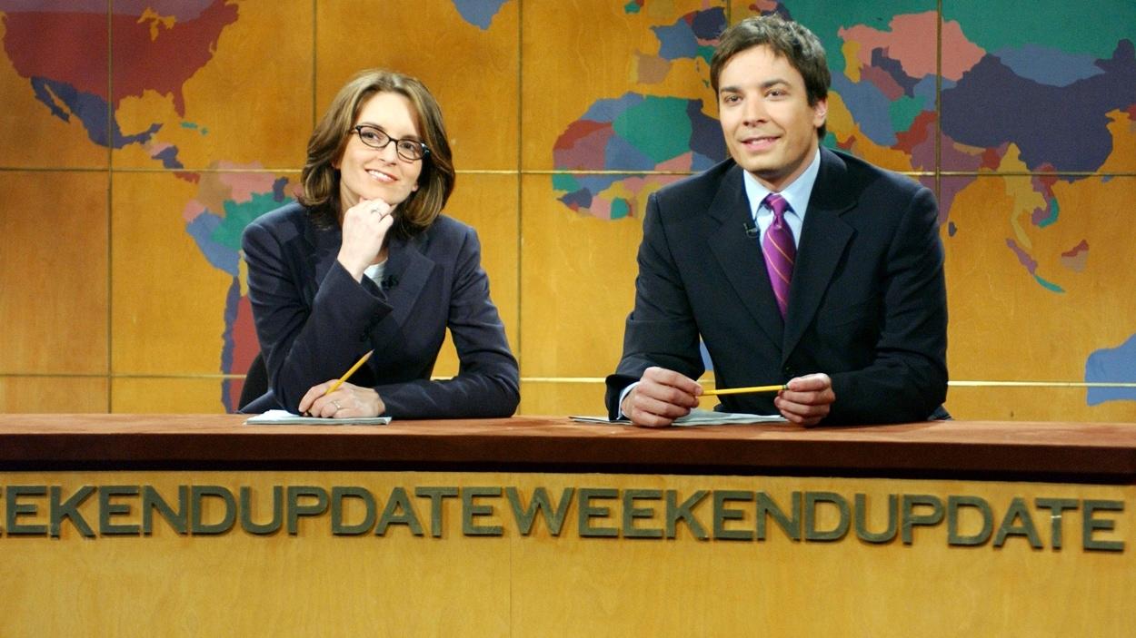 Tina Fey et Jimmy Fallon à « Saturday night live » en 2003.