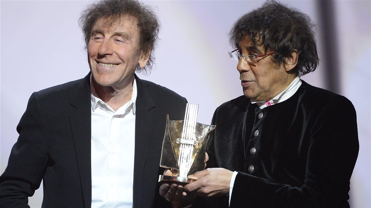 Laurent Voulzy et Alain Souchon