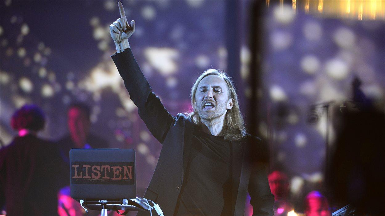 David Guetta aux Victoires de la musique 2015