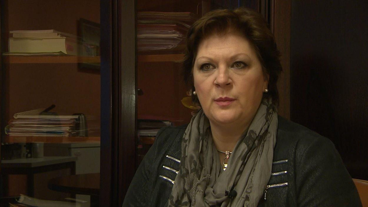 Jacqueline André-Cormier, Caisse de prévoyance sociale, Saint-Pierre-et-Miquelon