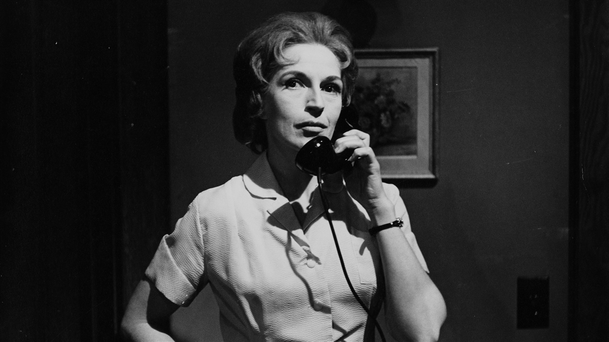 Janine Sutto en 1961 dans « Le mors aux dents ».