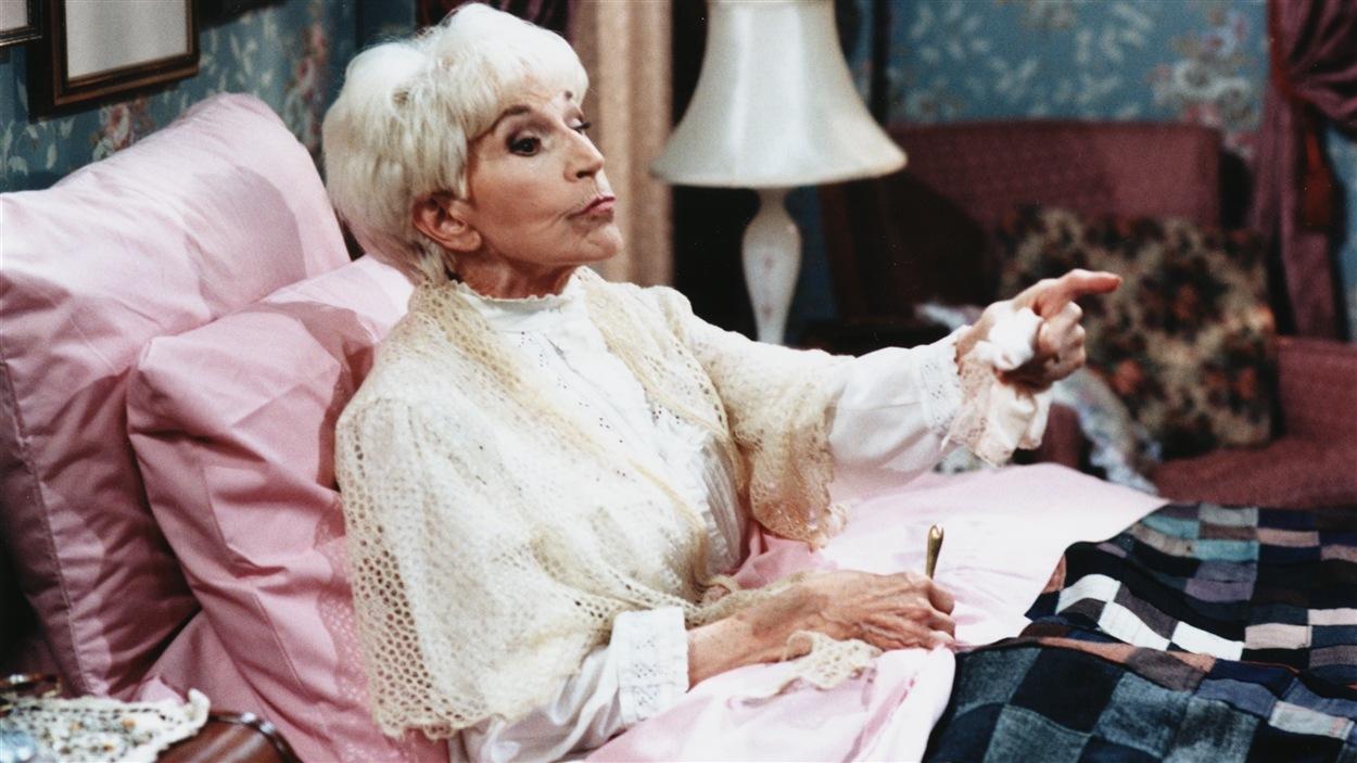 Janine Sutto personnifie Margot dans «Maman chérie» en 1997.
