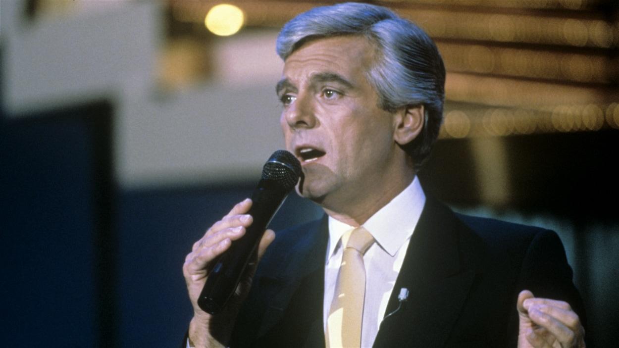 « Star d'un soir » avec Pierre Lalonde en 1986.