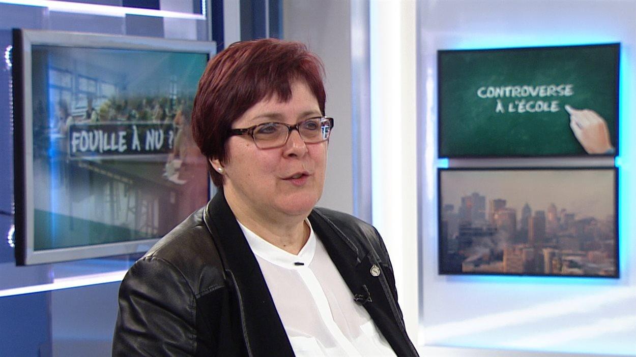 Lorraine Normand-Charbonneau, présidente de la FQDE.