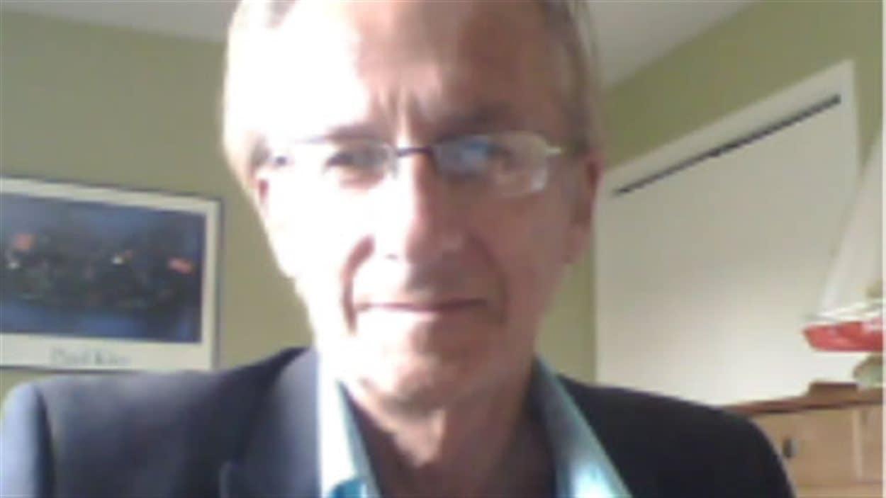 L'auteur Richard Dubois
