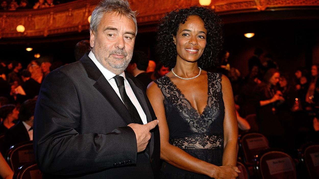 Luc Besson et sa conjointe, la productrice Virginie Silla.