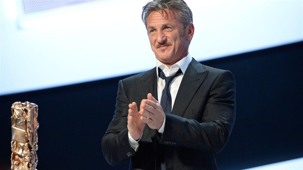 Sean Penn a reçu le César d'honneur