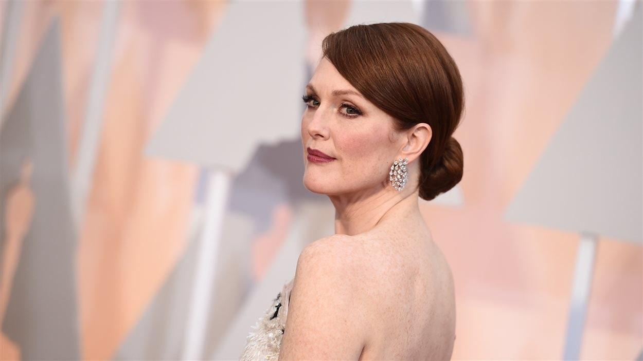 Julianne Moore à la 87e cérémonie des Oscars