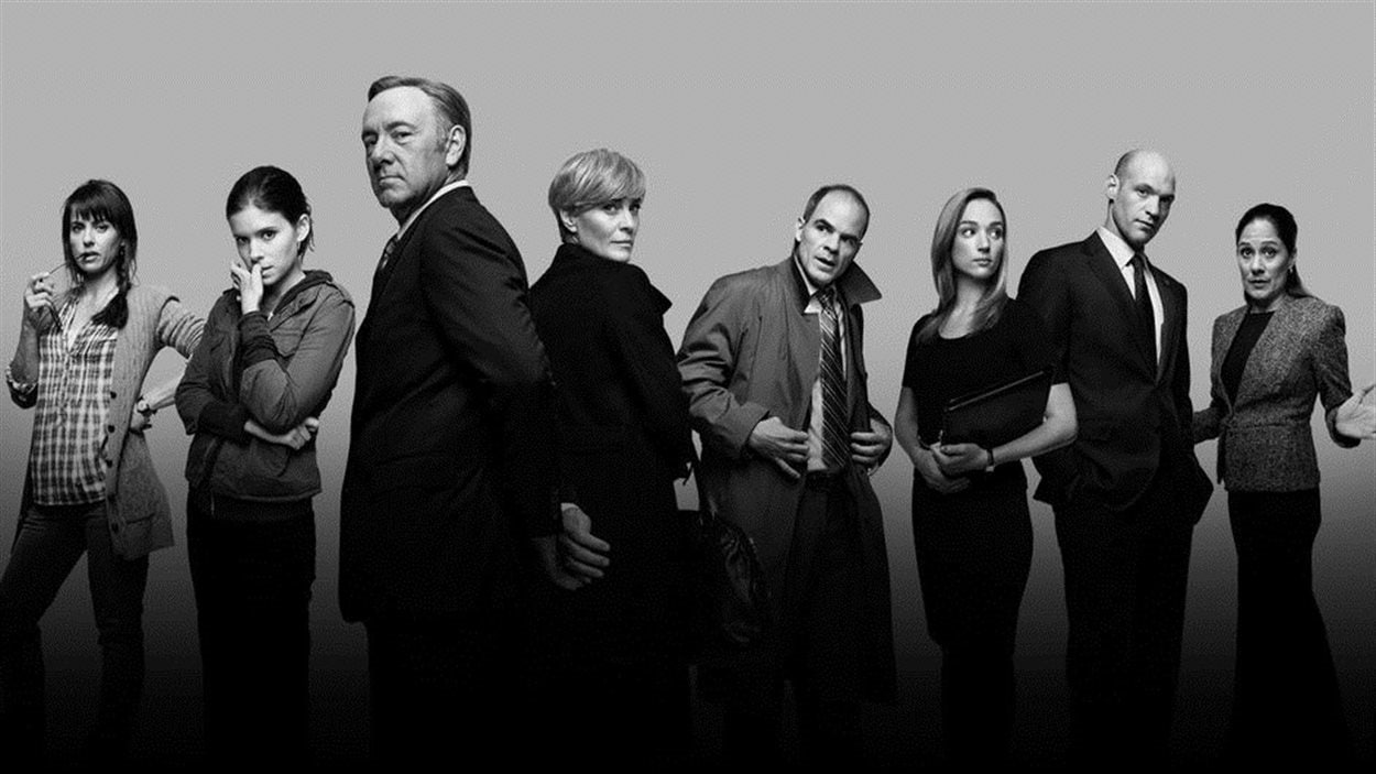 La série <em>House of cards</em> offerte sur Netflix