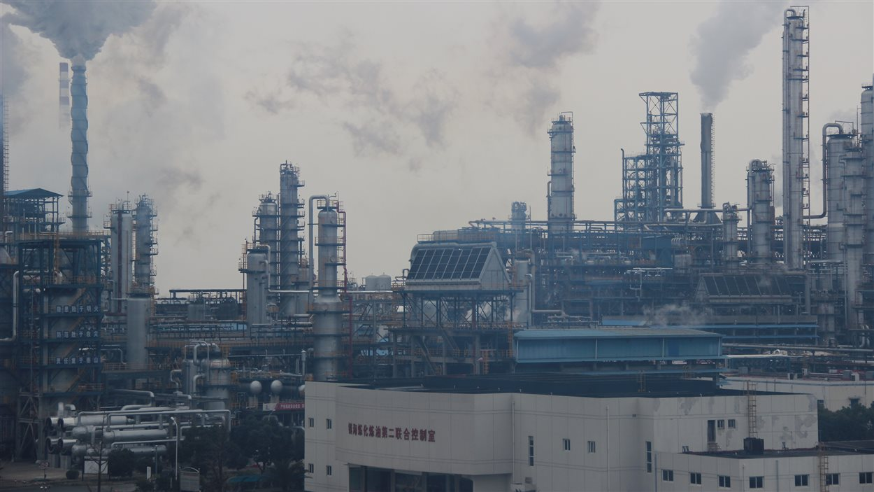 La raffinerie de Sinopec, à Ningbo