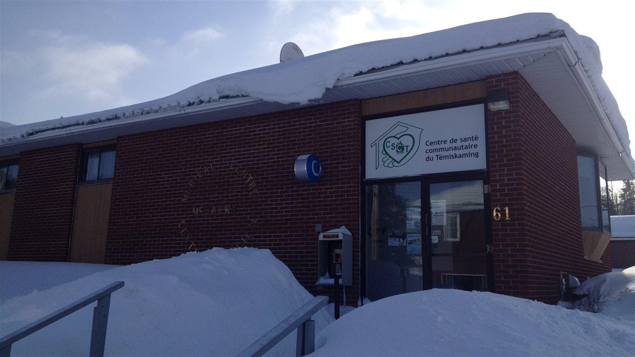 Le Centre de santé communautaire du Témiskaming, à Virginiatown, où deux infirmères de Rouyn-Noranda se rendent travailler chaque jour