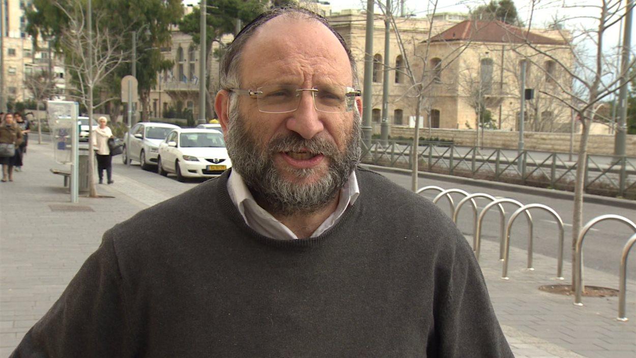 Dov Maimon, directeur du Centre d'étude stratégique pour le peuple juif