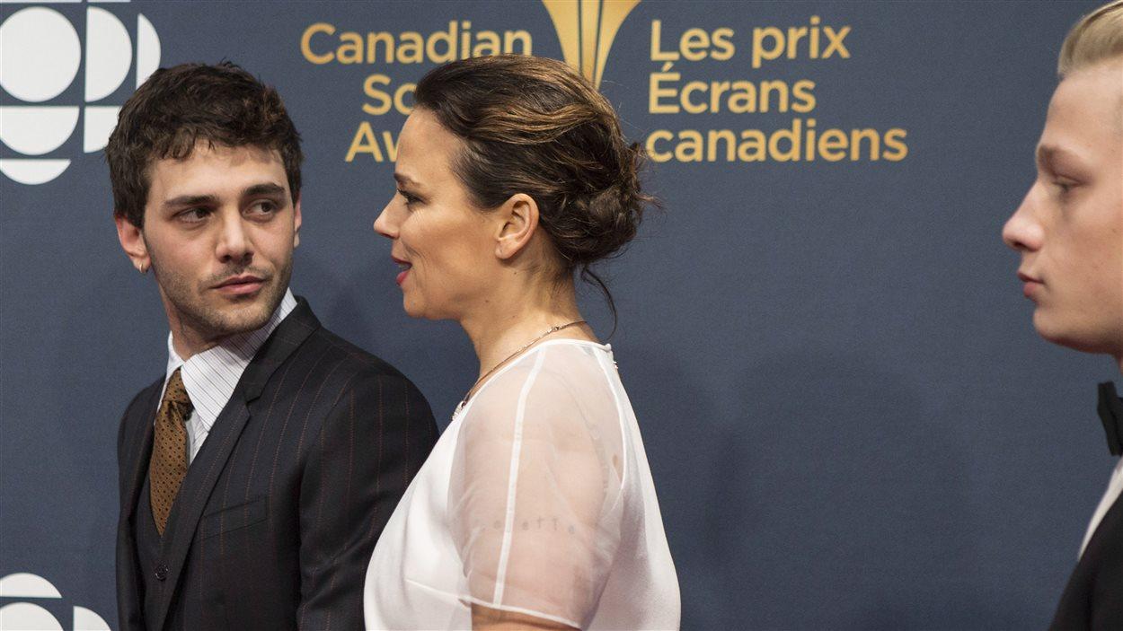 Xavier Dolan et Suzanne Clément