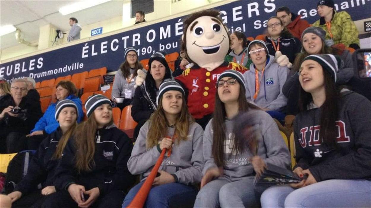 Foule aux Jeux du Québec