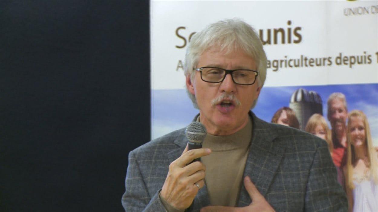 Le directeur général de la société d'exploitation agricole, Pangea, Serge Fortin