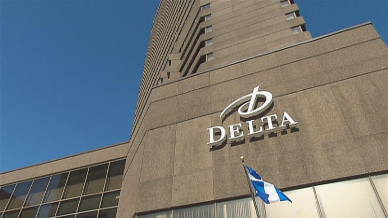 L'Hôtel Delta au centre-ville de Québec