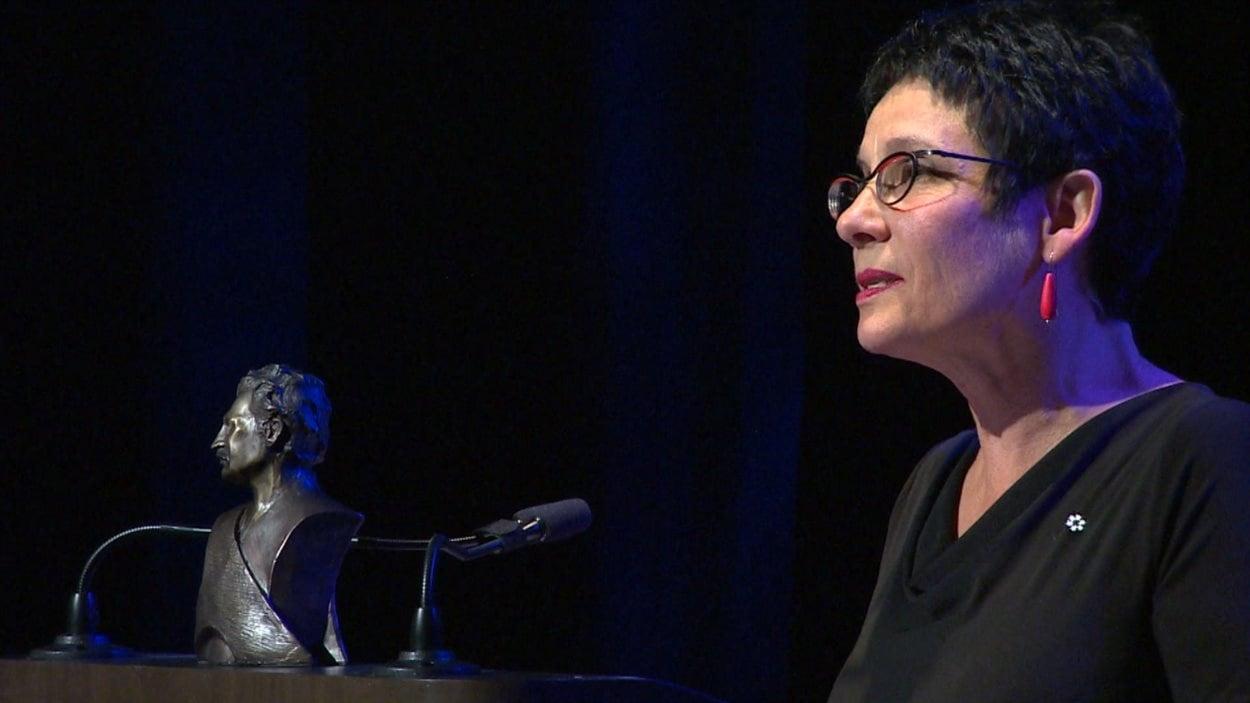 Raymonde Gagné est une des deux lauréates des Prix Riel 2015.