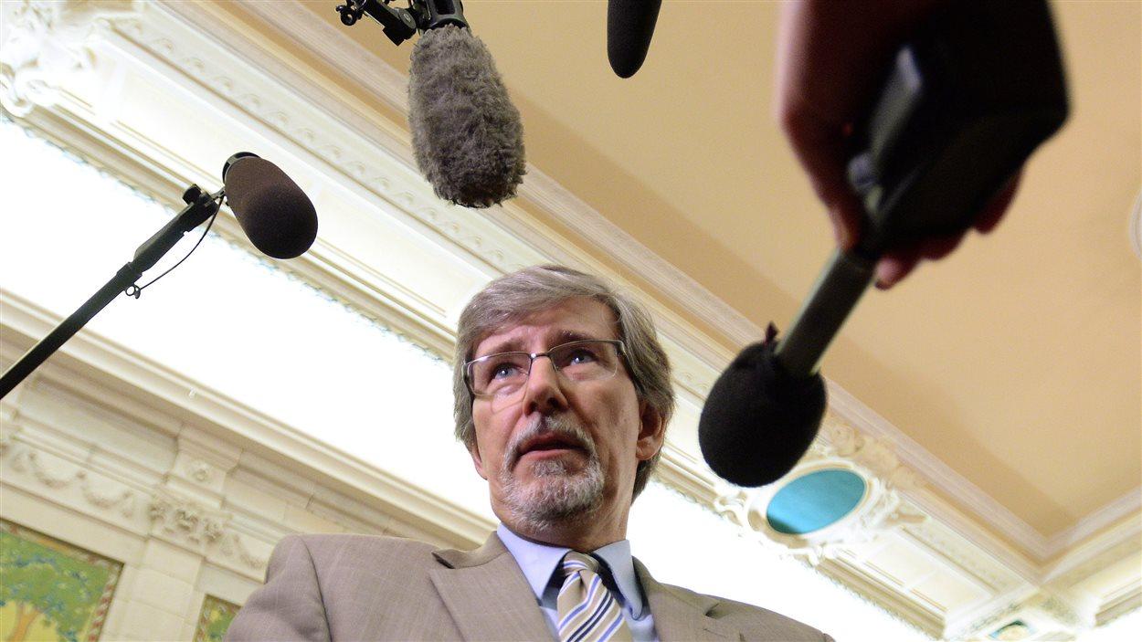 Daniel Therrien,  commissaire fédéral à la protection de la vie privée.