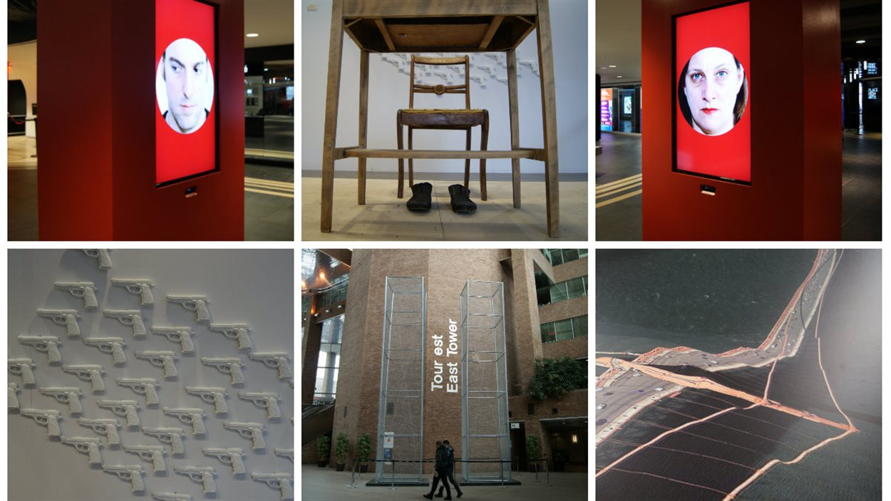 L'exposition Art souterrain est présentée jusqu'au 15 mars à Montréal.