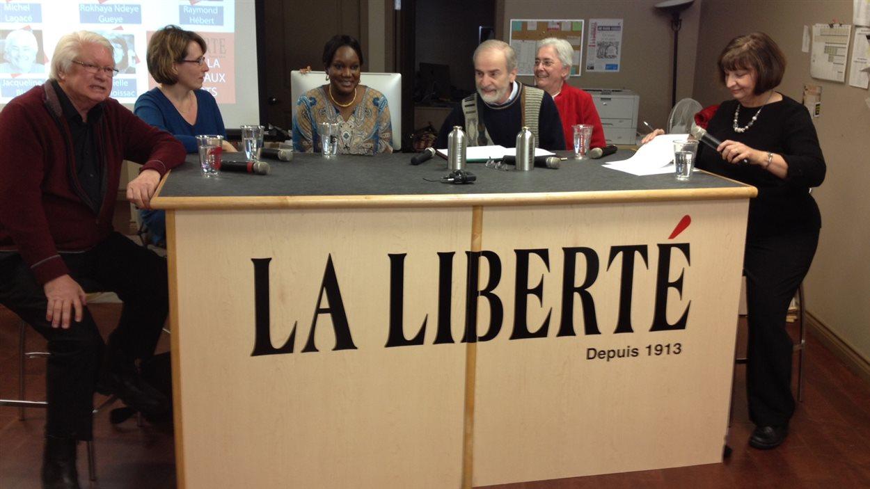 Le panel d'experts est constitué de Raymond Hébert, Michel Lagacé, Jacqueline Blay, Danielle de Moissac et Rokhaya Ndeye Gueye.