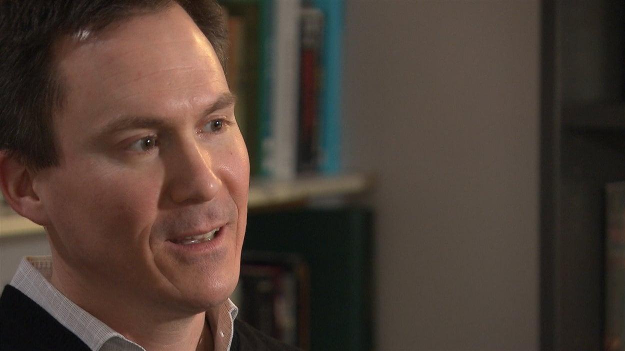 Le professeur Martin Laberge de l'Université du Québec en Outaouais