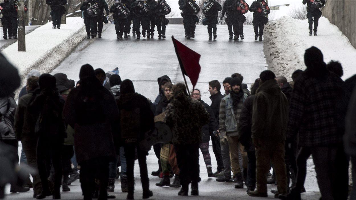 Plusieurs groupes de la mouvance anarchiste à Montréal compte se rassembler se printemps.
