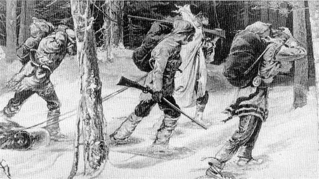 Des documents découverts récemment par la BAnQ révèlent la dure réalité des coureurs des bois au Témiscamingue