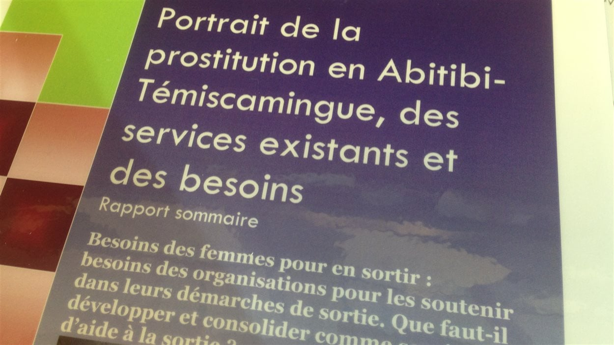 Portrait de la prostitution en Abitibi-Témiscamingue