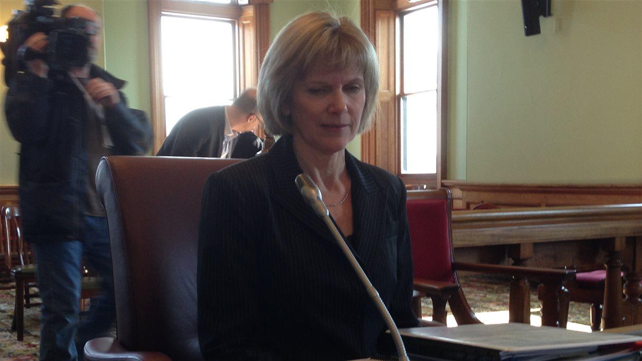 La vérificatrice générale du Nouveau-Brunswick, Kim MacPherson.
