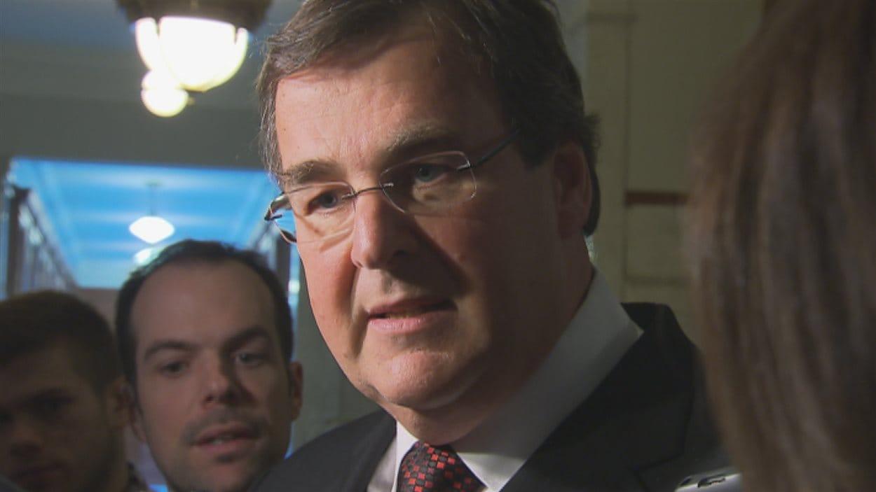 Le ministre de l'Éducation, François Blais