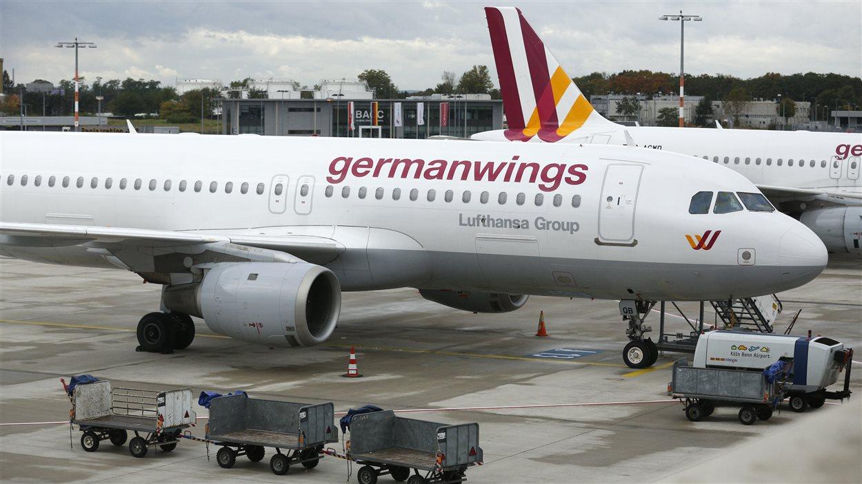 Un appareil de Germanwings, une filiale de Lufthansa.