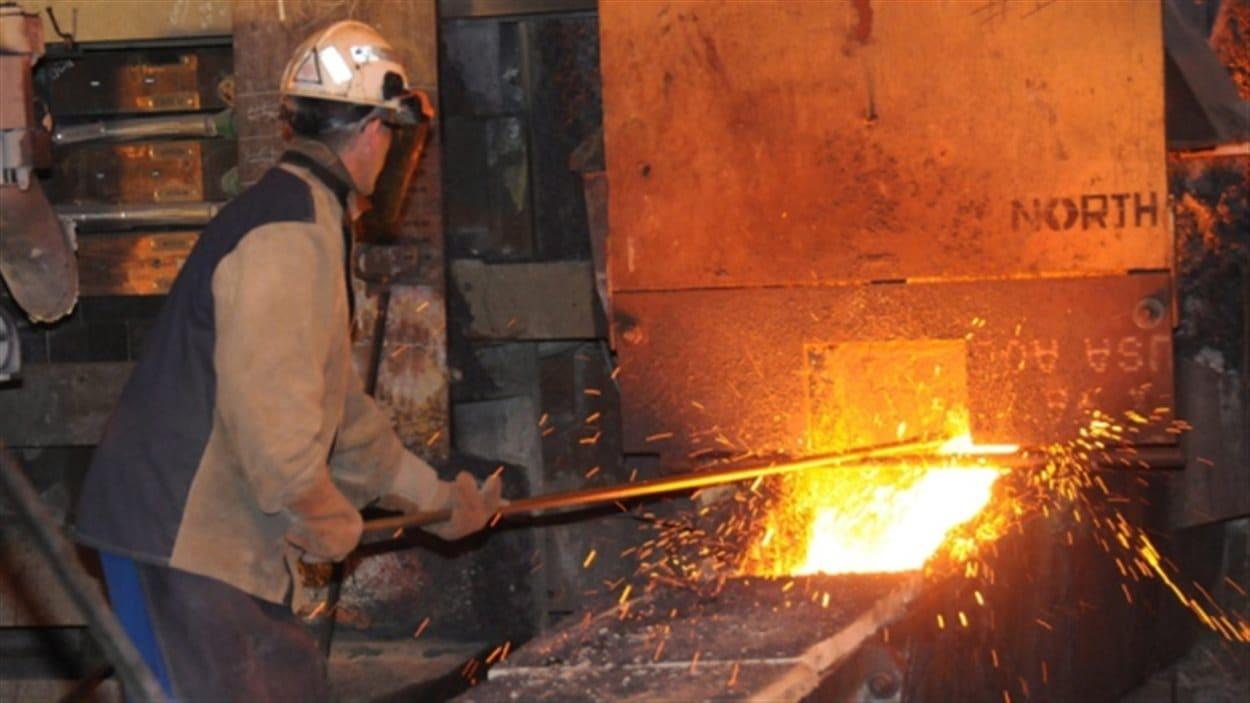 La minière Cliffs prévoyait ouvrir une fonderie à Sudbury pour traiter la chromite de son gisement dans le Cercle de feu.