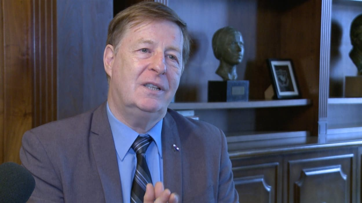 Marc Demers, maire de Laval