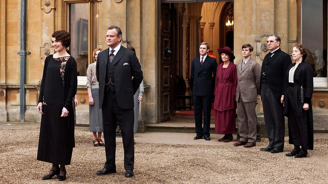 La série « Downton Abbey ».