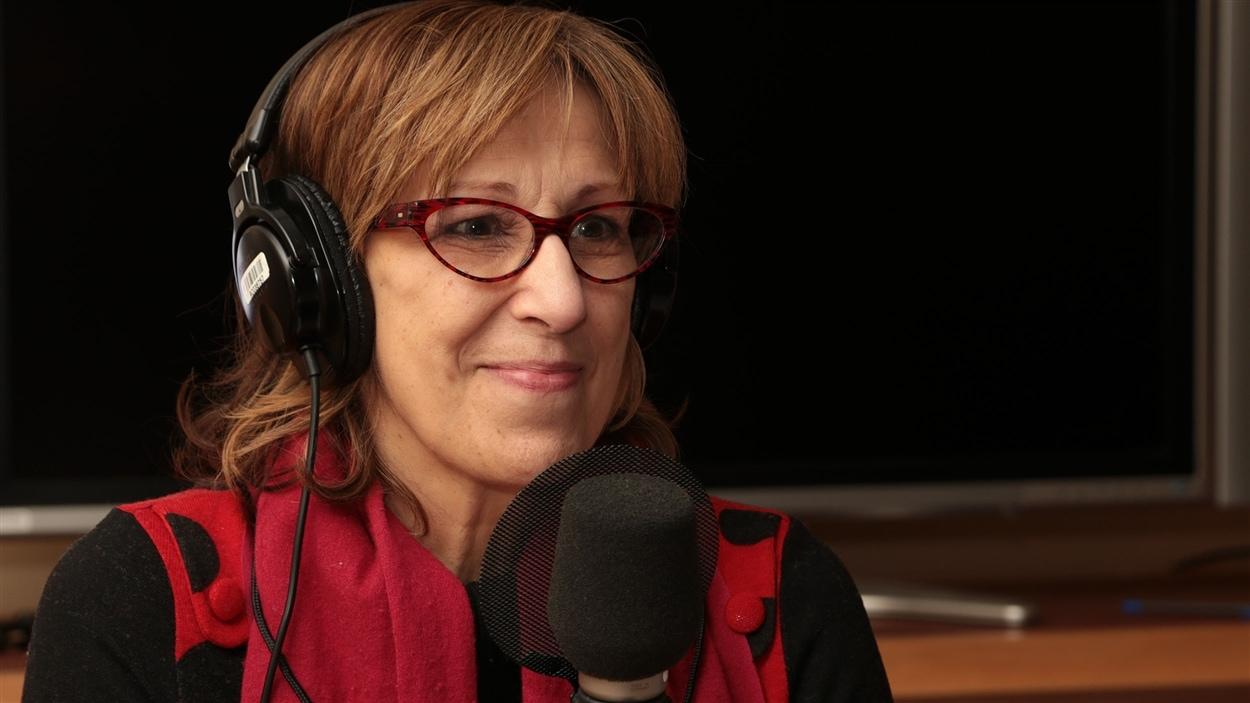 La comédienne Danielle Proulx
