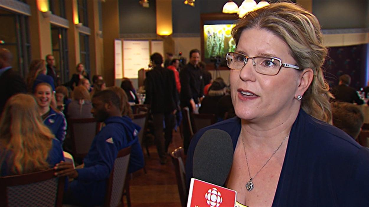 Manon Simard, directrice du programme de sport d'excellence de l'Université de Montréal